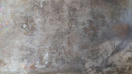 Gray metal background in grunge style