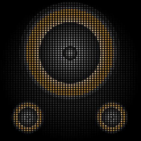 speaker Stock Vector - 14990351