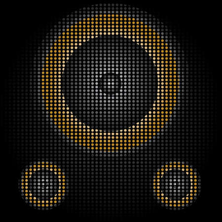 speaker grille pattern: speaker