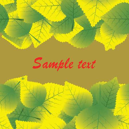 small vein: autumn leaves