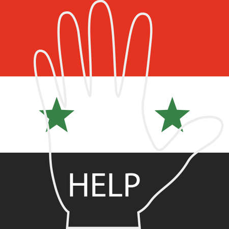 hopeful: request the people of Syria for help