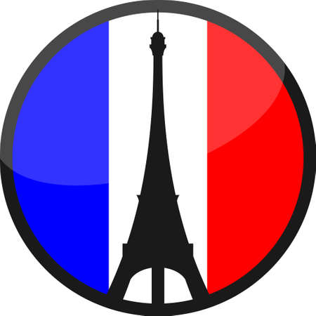 13th: People from around the world shares images with sign PRAY FOR PARIS after a series of coordinated terror attacks across Paris. Vector illustration. Illustration