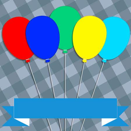 congratulatory: congratulatory message on the color abstract design