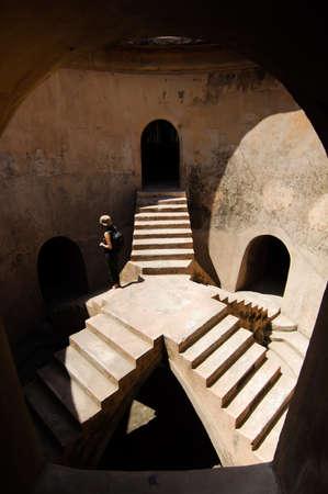 Inside the Coridor of Taman Sari Water Castle