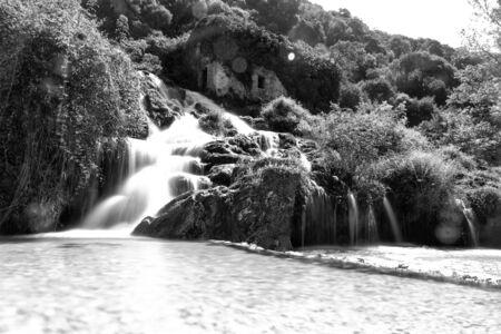 A orillas del río Acheron Foto de archivo - 79462436