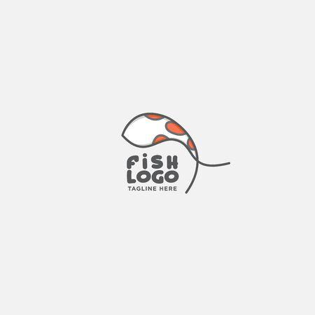 fish logo vector illustration, fish market logo, fish guard logo, fish contest, seafood label and badge Stock fotó - 150341795