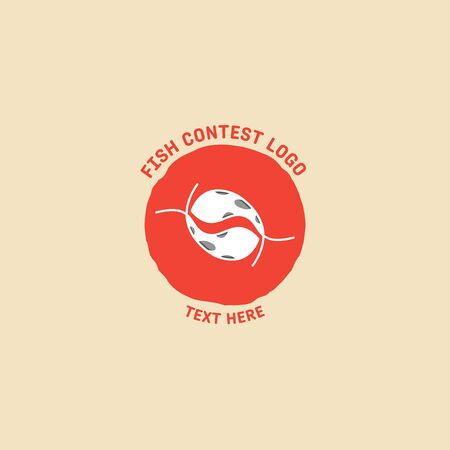fish logo vector illustration, fish market logo, fish guard logo, fish contest, seafood label and badge Stock fotó - 150341801
