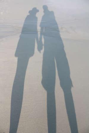 Inlove on the beach Stock Photo