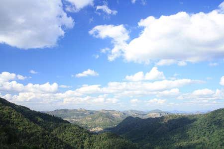 The afternoon at Khoa yai mountain, Thailand