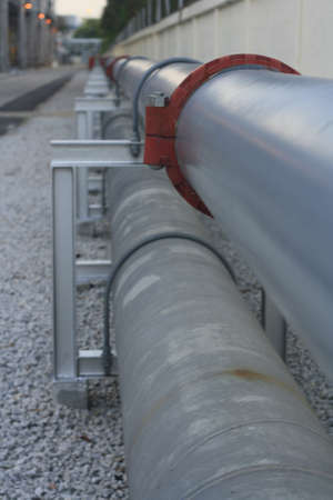 Industrial Plant pipe line