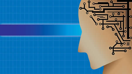 human circuit Illustration