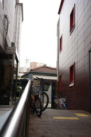walkway between building 1