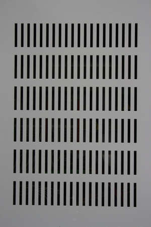grate of steel cabinet Stock Photo