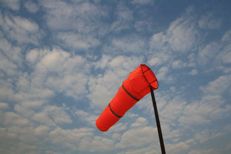 windsock with air flow photo
