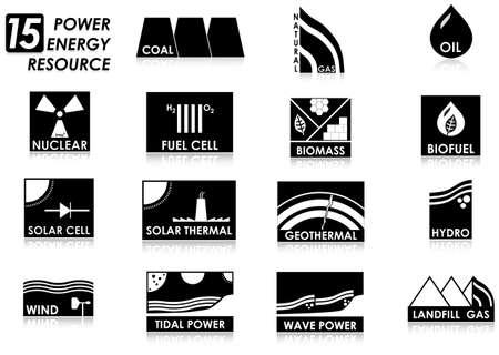 エネルギー アイコン 写真素材 - 17907348
