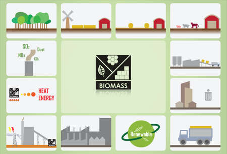 02 biomass Stock Vector - 21636083