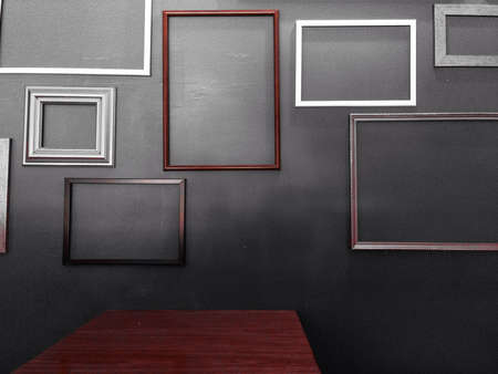 Frames and shadows
