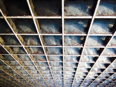 Steel patterns Stock Photo