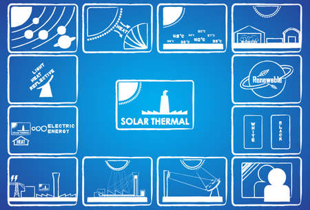 thermal power plant: energ�a solar t�rmica