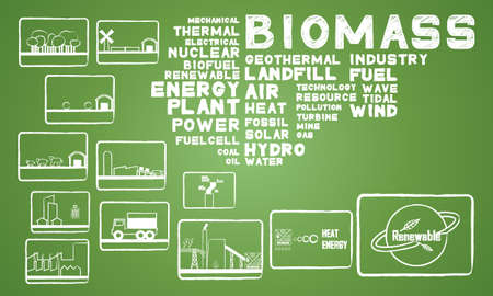 biomass energy Vector