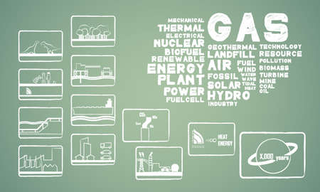 thermal power plant: energ�a gas natural