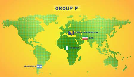 map group F Illustration
