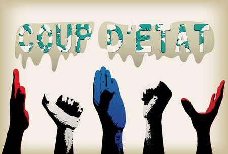 overthrow: coup d etat