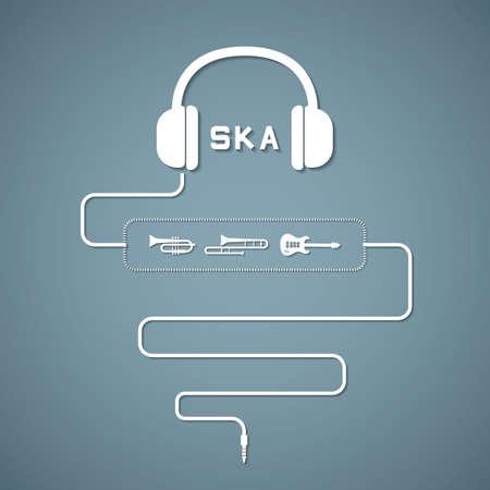 headphone ska