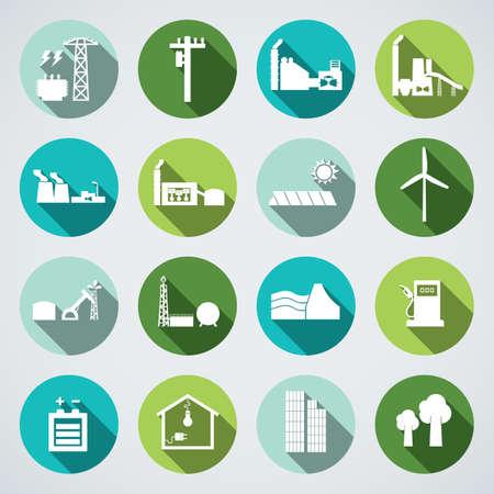 energie icon Stock Illustratie