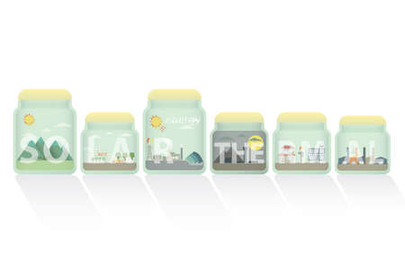 thermal: solar thermal in jar