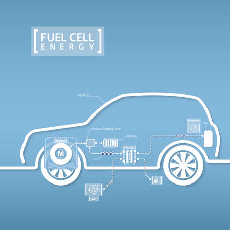 fuel cell: fuel cell car