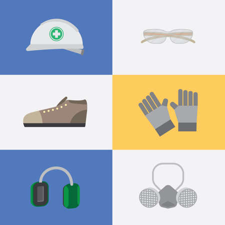 personal protective equipment: basic personal protective equipment icon