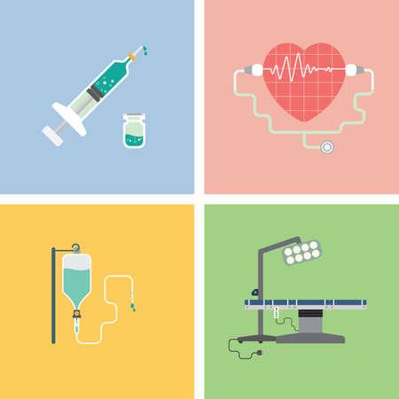 surgical needle: health icon