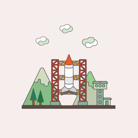 missile: missile Illustration