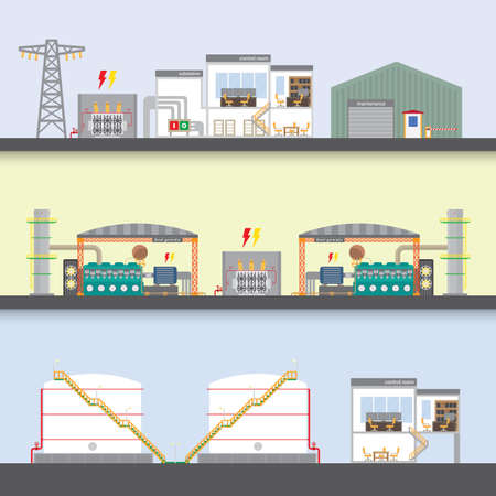 oil power plant