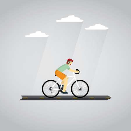range of motion: cycling Illustration