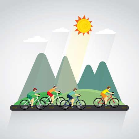 range of motion: cyclingrace