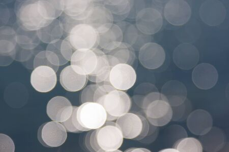 beautiful sunshine: Blurred light circles abstract background