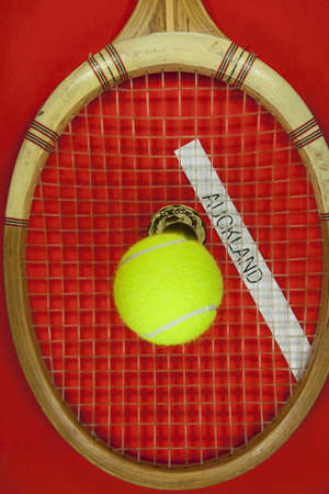 Tennis tournament Auckland. photo