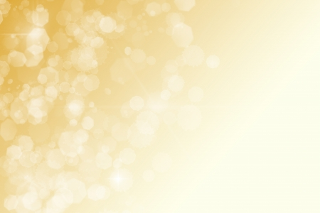golden abstract background white sparkles bokeh stars photo