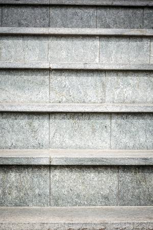 detail of gray granite stairs photo