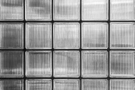 wall of glass bricks for backgrounds