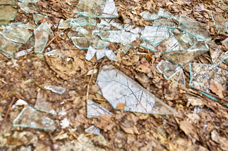 shards of glass for backgrounds and overlays photo