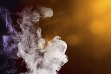 compositions: smoke with colored lights for compositions and overlays