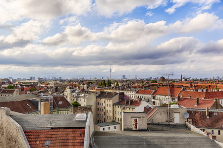 HDR panorama di Berlino con Cloudscape