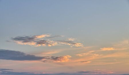 compositions: evening sky for backgrounds and compositions