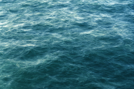 double exposure of the ocean surface for backgrounds Stock Photo