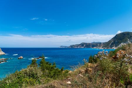 Mediterranean ocean landscape, Kefalonia Greece