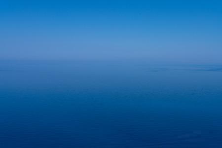 misty blue ocean landscape for backgrounds