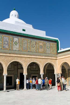 kairouan: Barbers Mosque in Kairouan in Tunisia